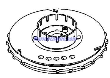Mercury Marine 30 HP (4-Stroke) Flywheel Parts