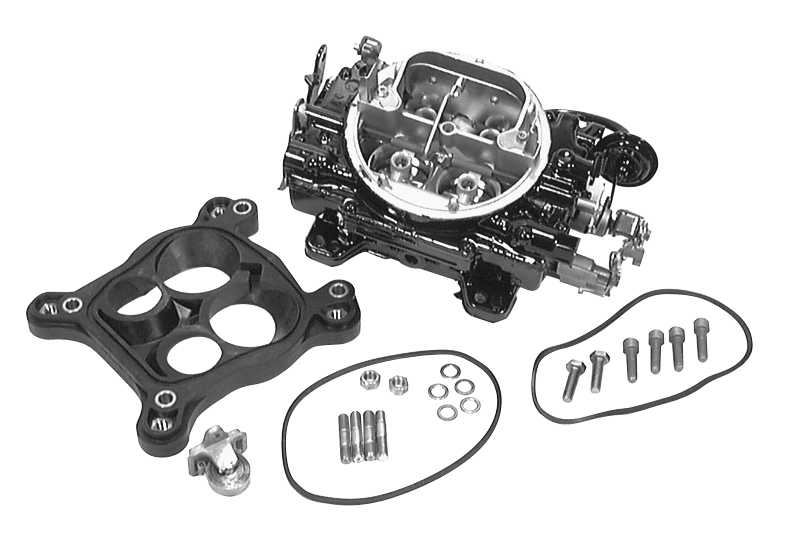 MerCruiser 5.7L MIE GM 350 V-8 1994-1995 Carburetor