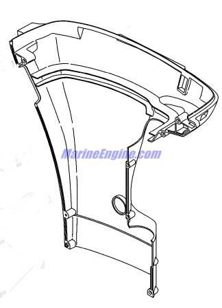 Mercury Marine 40 HP EFI (3 Cylinder) (4-Stroke) Bottom