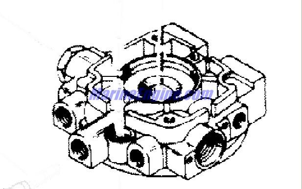 MerCruiser TR / TRS 1977-1993 Hydraulic Pump (Oildyne Pump