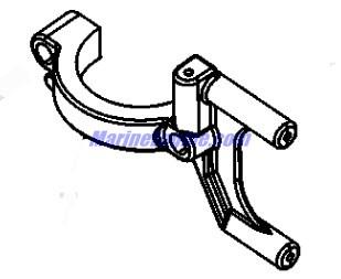 Mercury Mariner Racing S3000 Cylinder Block & End Caps Parts