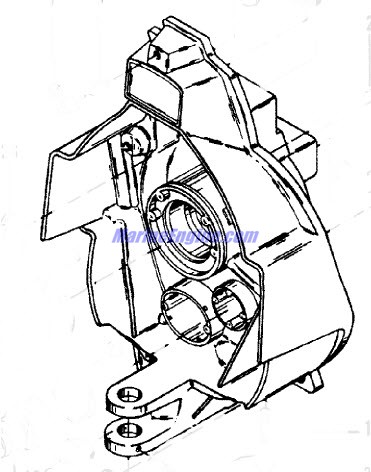 MerCruiser R / MR / Alpha One (Transom Assembly) 1983-1990