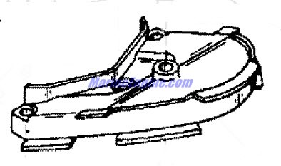 Mercury Marine 115 HP (4 Cylinder) Exhaust Plate Parts