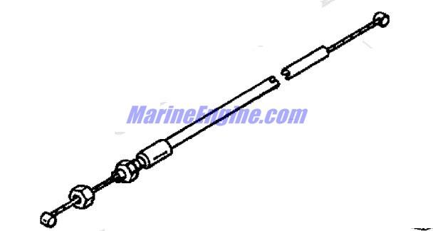 Mercury Marine 15 HP (4-Stroke) Tiller Handle Parts