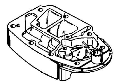 Mercury Marine 1150 Exhaust Extension Plate Parts