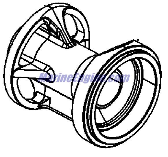 Mercury Marine 9 8 Hp Gear Housing Propeller Shaft Parts