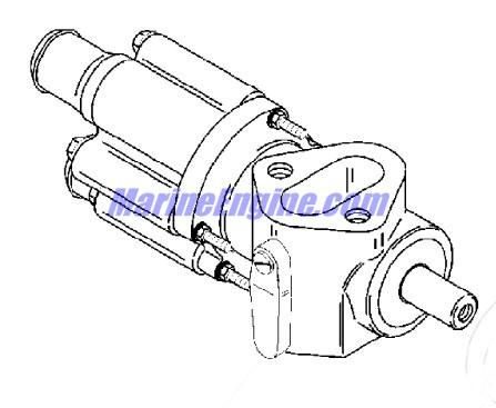 MerCruiser Race Engine & Drive 525 EFI Sea Water Pump
