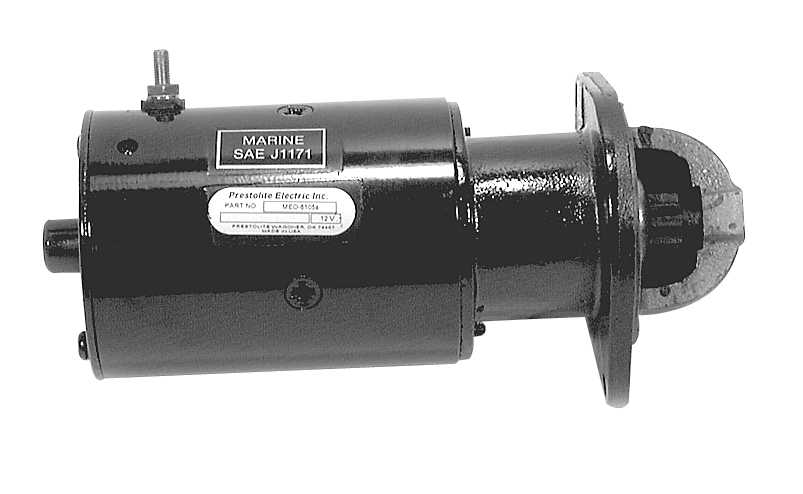 Marine Mercury Outboard 1060412fd Starter Motor Diagram And Parts
