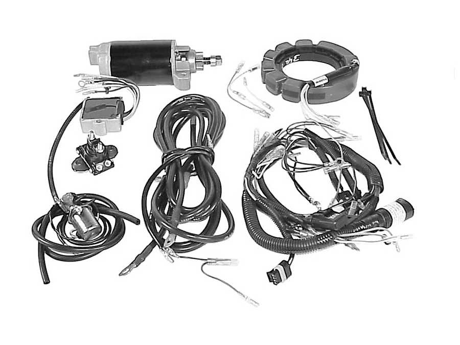 Mercury Marine 30 HP (2 Cylinder) Accessories Parts