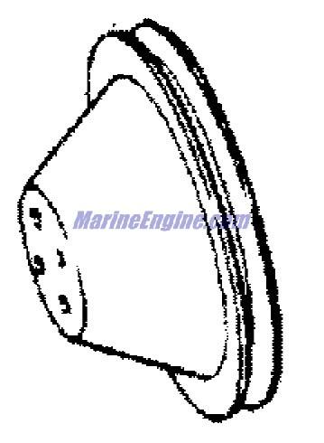 MerCruiser Race Engine & Drive 525 SC (Gen. V) GM 454 V-8