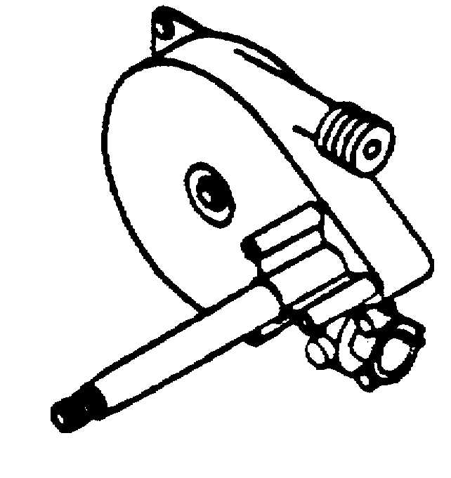 Mercury Marine Water Mouse Boat Helm Assembly Parts