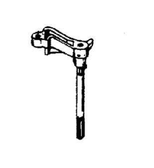Mercury Marine 7.5 HP Steering Handle & Throttle Linkage Parts