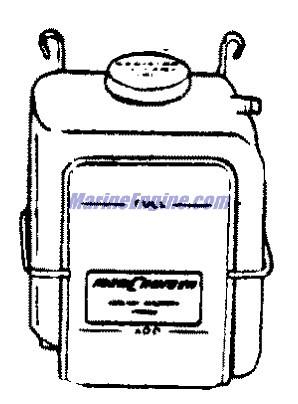 MerCruiser 350 Mag MPI Alpha / Bravo EC Closed Cooling