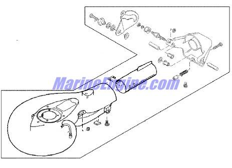 Mercury Marine 20 HP Jet Jet Pump Assembly (Serial No