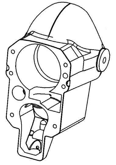 MerCruiser Alpha One (Gen. II) 1996-1997 Bell Housing Parts