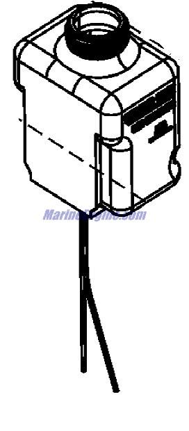 MerCruiser Bravo Three Gear Lube Monitor Components Parts
