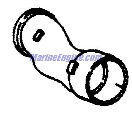 MerCruiser Black Scorpion 350 Mag MPI Exhaust Manifold