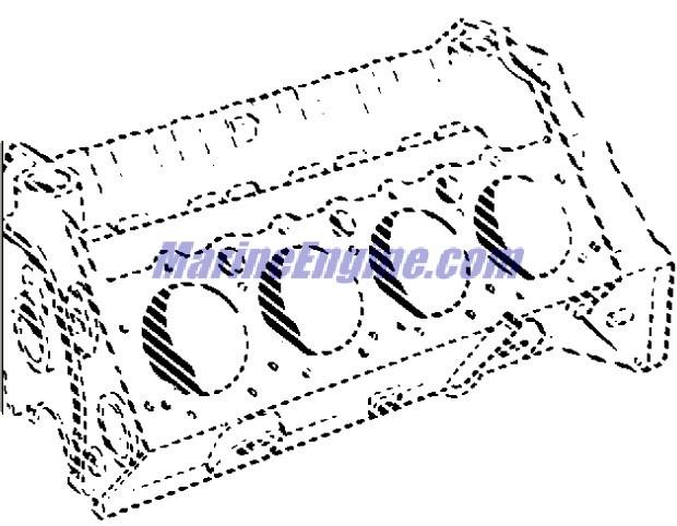 MerCruiser 7.4LX Bravo (MPI) (Gen. V) GM 454 V-8 1996