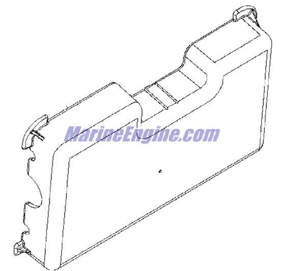 MerCruiser 496 Mag (H.O. Model) Fuel Pump & Fuel Cooler Parts