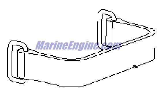 MerCruiser Alpha One (Gen. II) 1996-1997 Oil Reservoir