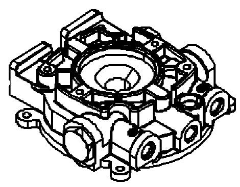 Hydraulic Pump Oildyne Pump / Plastic Reservoir for
