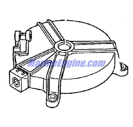 Mariner 4 HP (2-Stroke) Recoil Starter Parts