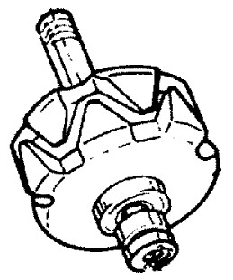 MerCruiser 3.0L GM 181 I / L4 1987-1989 Alternator