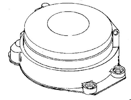 Mariner 60 HP (3 Cylinder) Bigfoot Recoil Starter, Manual