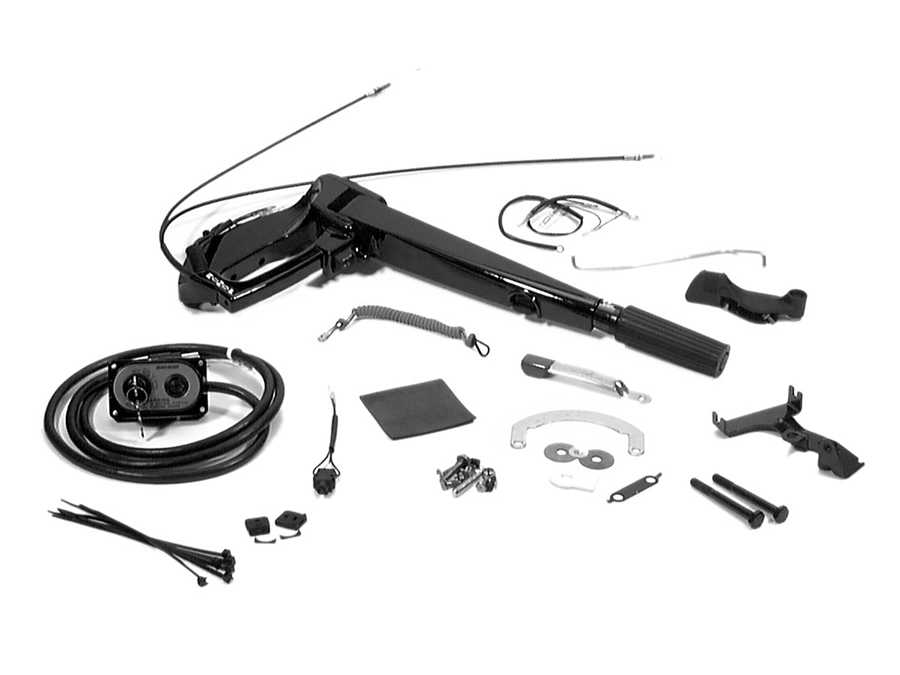 Marine Mercury Outboard 1041227tf Tiller Handle Diagram And Parts