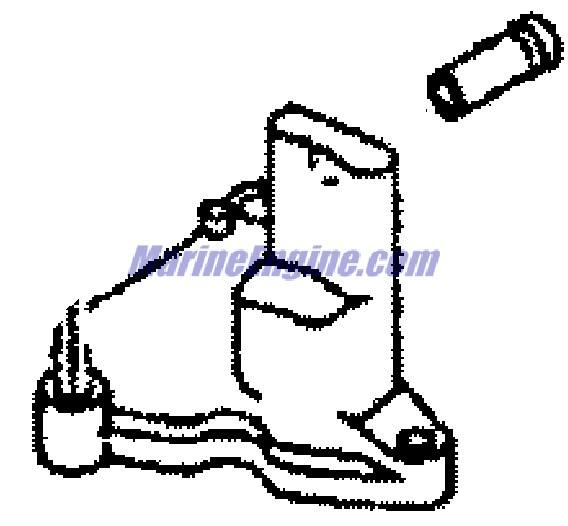 Mercury Marine 15 HP (4-Stroke) Cylinder Block & Covers Parts