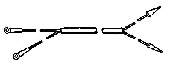 Force 120 HP (1996) Power Trim Components (Design I) Parts