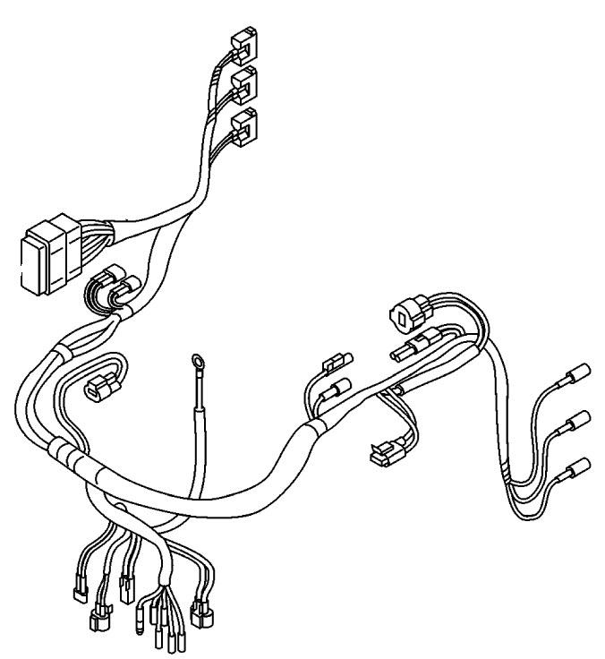 Mariner 25 HP EFI (3 Cylinder) (4-Stroke) Flywheel, Ecu