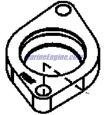 MerCruiser 496 Mag (H.O. Model) Cooling System, Fresh