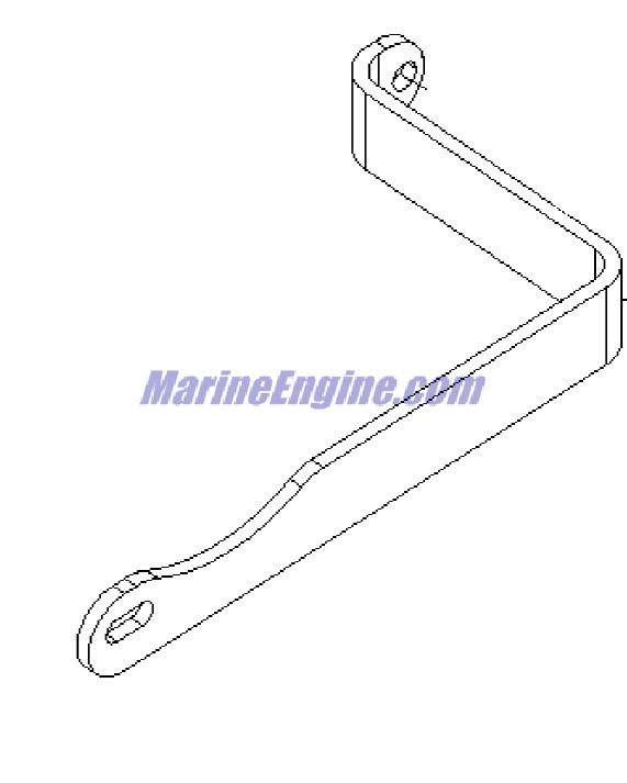 MerCruiser 5.0L MPI Alpha / Bravo Alternator & Brackets Parts