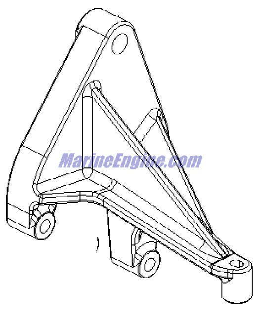 MerCruiser 496 Mag (H.O. Model) Water Drain System Parts