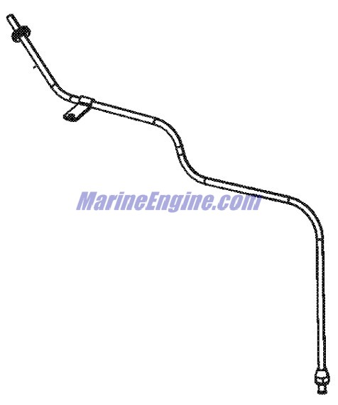 MerCruiser 4.3L MPI Alpha / Bravo Oil Pan, Oil Pump & Rear