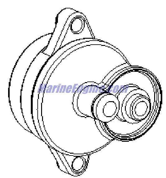 MerCruiser 8.2L Mag EC (H.O. Model) Seawater Pump Parts