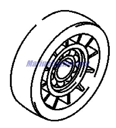 MerCruiser 496 Mag (H.O. Model) Seawater Pump Parts