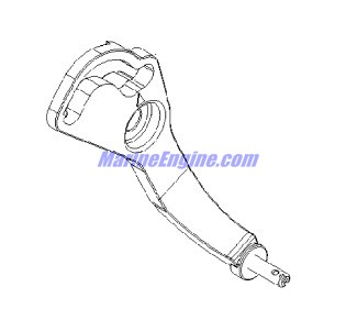 Mercury Marine 115 HP EFI (4-Stroke) Throttle Lever
