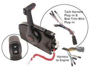 Mercury Marine Remote Controls & Components Remote Control