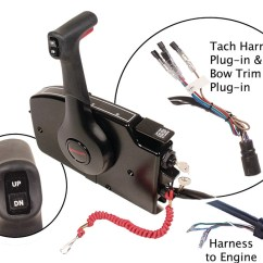 Evinrude Key Switch Wiring Diagram Sahara Desert Food Web Mercury Quicksilver 881170a20 - Remote Control