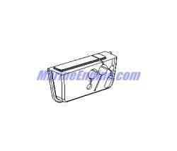 Mercury Marine 90 HP (4-Stroke) Steering Handle Kit Parts