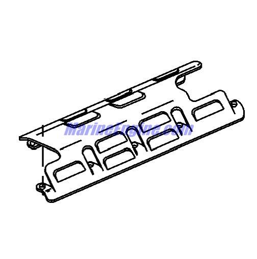 MerCruiser 496 Mag (H.O. Model) Block-crankshaft, Oil Pump