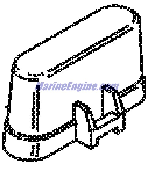 MerCruiser 496 Mag (H.O. Model) Pcm & Bracket Parts