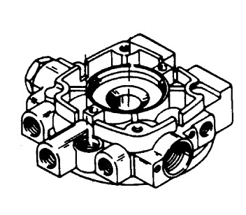 Mercury Mariner Racing Mercury XR2 Hydraulic Pump Assembly