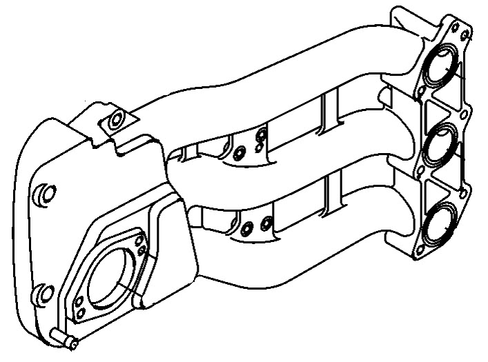 Mercury Marine 30 HP EFI (3 Cylinder) (4-Stroke) Intake