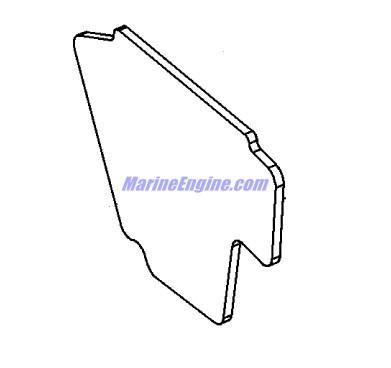 Mercury Marine 115 HP EFI (4-Stroke) Bottom Cowl Parts