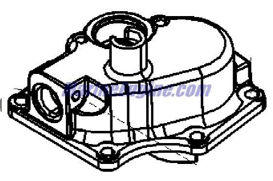 MerCruiser 496 Mag (H.O. Model) Fuel Module Components Parts