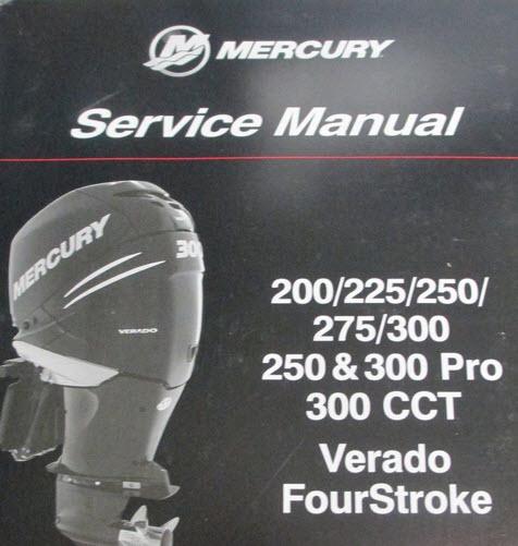 Mercury Marine 300 Hp Verado 4 Stroke 6 Cylinder