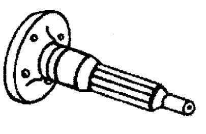 MerCruiser 496 Mag (H.O. Model) Jackshaft Components Parts